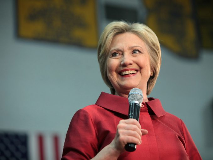 Hillary Clinton at Campaign Rally